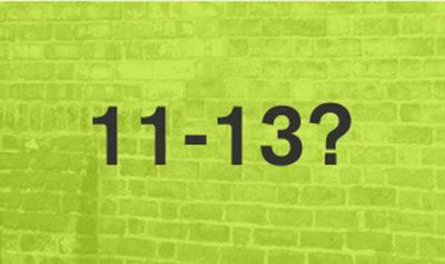 eleven-thirteen